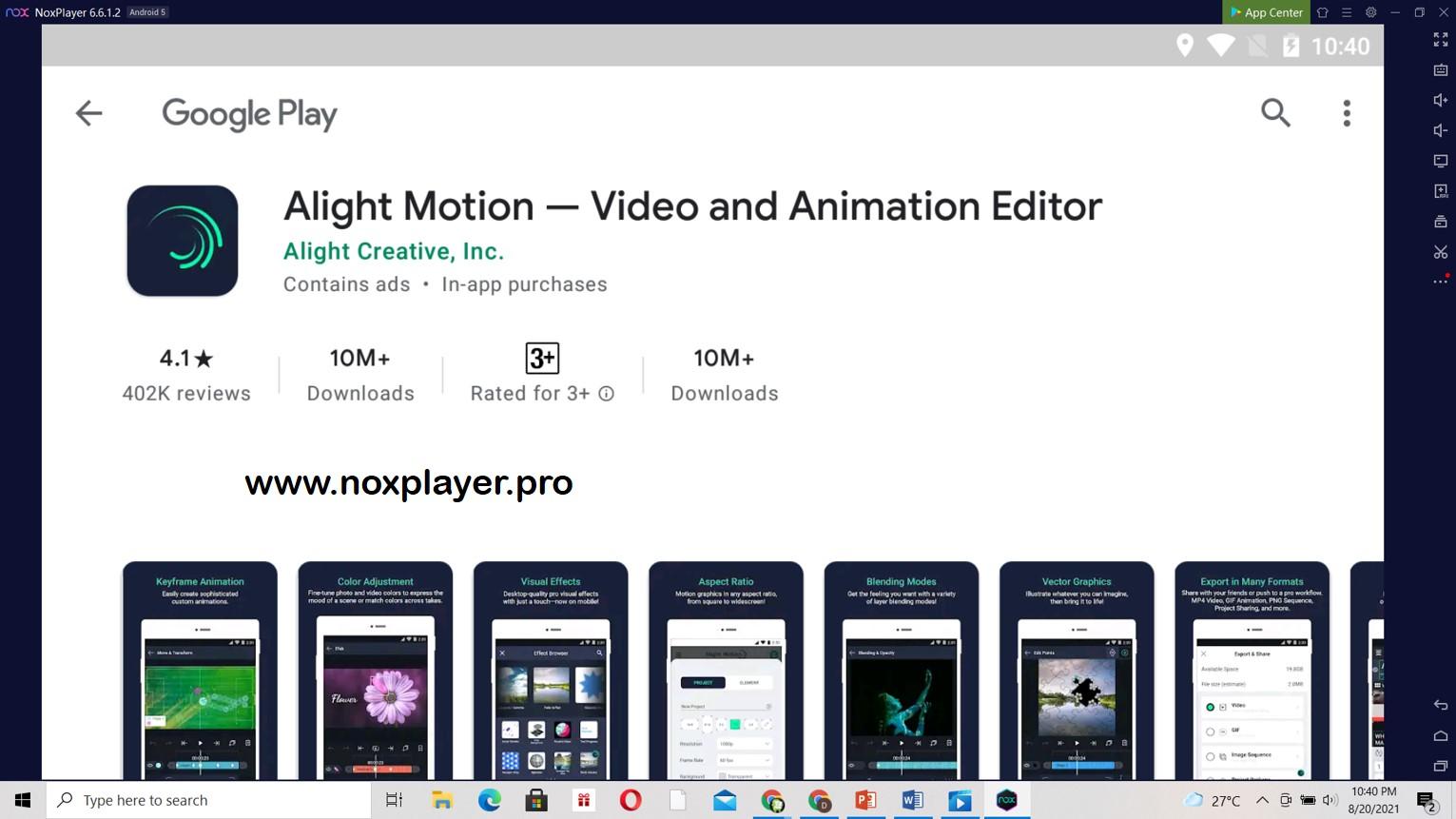 Alight Motion for PC